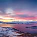 Sunset Panorama above Tromsø by MarekX