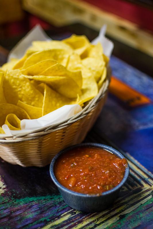 Chips and Salsa at Las Palmas