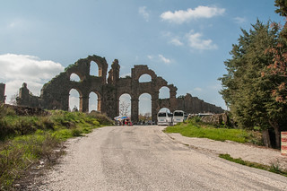 Aqueduct 的形象. turkey antalyaprovince