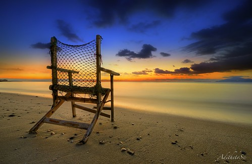 sunset sea seascape color beach island chair nikon seat kos greece nikkor legacy sandybeach d800 aegeansea dodekanisa abigfave 1424mmf28 spiritofphotography nikond800 adithetos