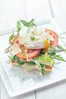 Poached Egg on Breakfast Sandwich