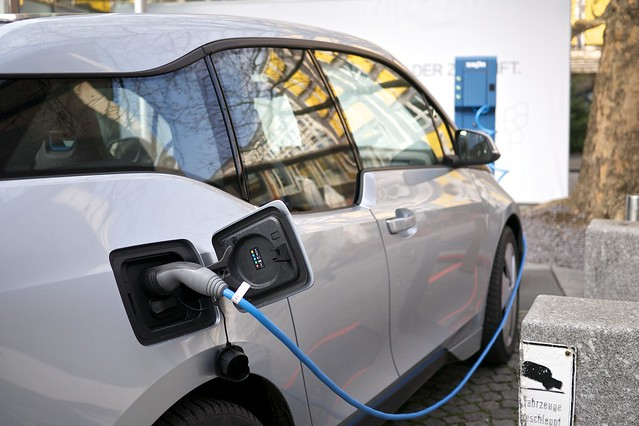 Photo:BMW i3 electric car By:Janitors