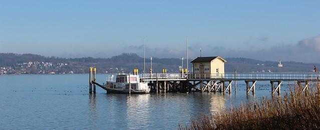 Schiffsanleger in Dingelsdorf am Bodensee