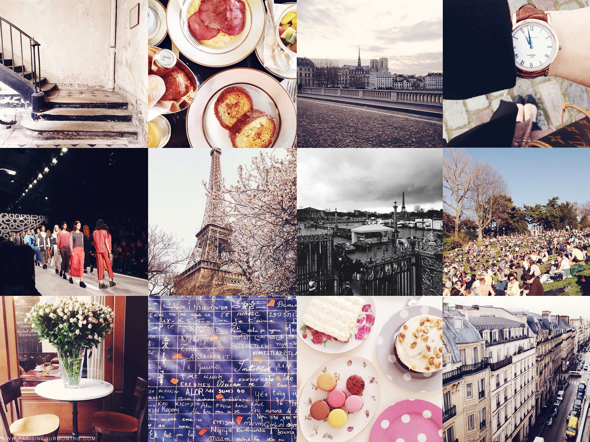 On Instagram by Carin Olsson (Paris in Four Months)