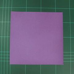 การพับกระดาษเป็นฐานนกอินทรี (Origami Eagle) 001
