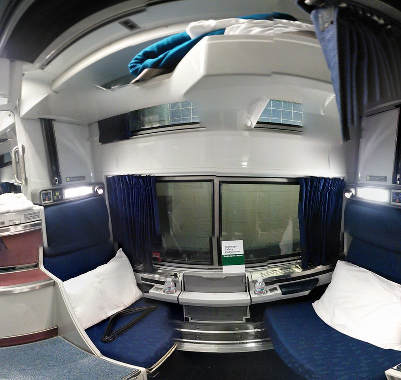 Amtrak Viewliner Roomette