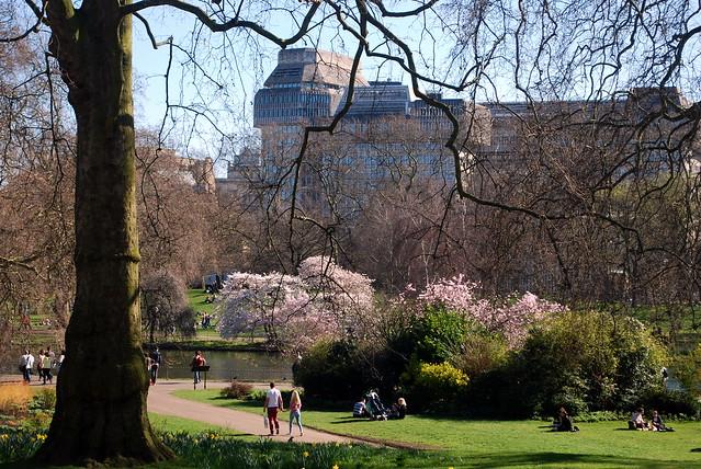 London in springtime, by Talon Windwalker