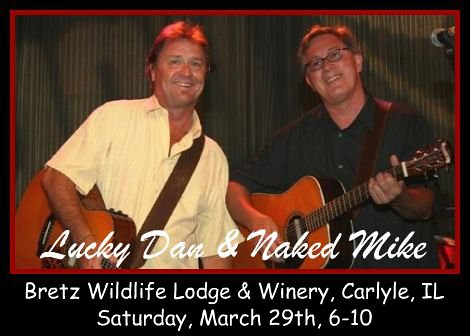 Lucky Dan & Naked Mike 3-29-14