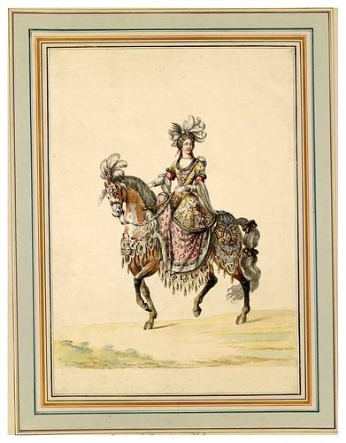 010-Carrousel des galans Maures de Grenade…1685- Jean Berain- INHA