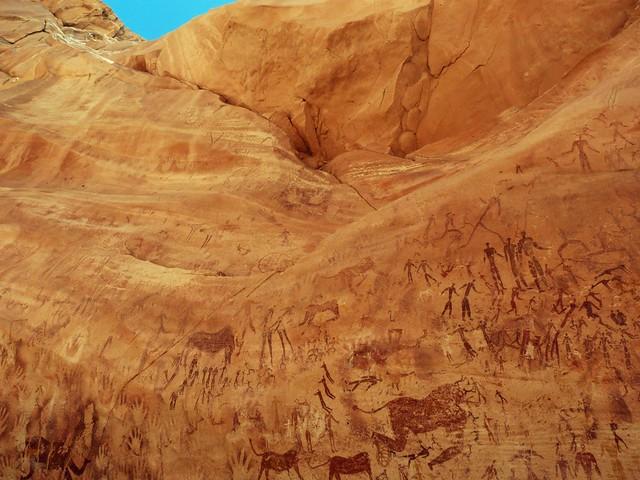 Cueva de las bestias (Wasi Sura, Egipto)