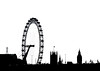 London Silhouette By Simon by Simon & His Camera