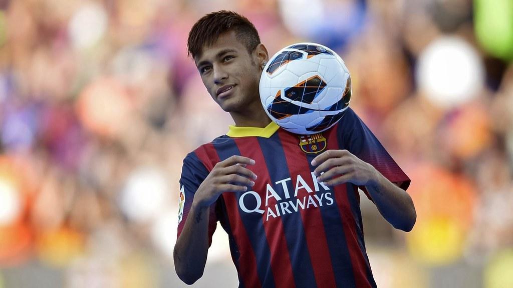Neymar Jr The Best Bacelona Football Player Hd Wallpaper Flickr