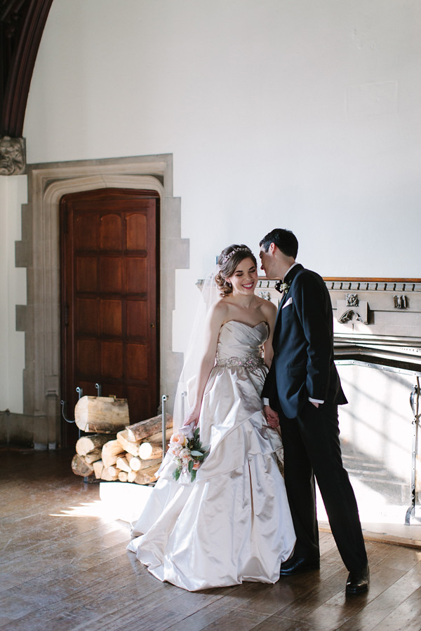 Celine Kim Photography intimate winter wedding MJ Toronto Hart House-30