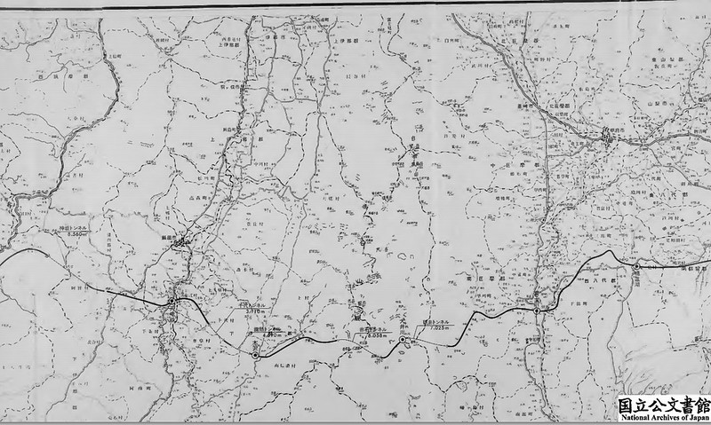 中央自動車道 南アルプスルート詳細図2