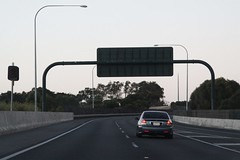 Driving down the Southern Expressway - it only *looks* like I'm going the wrong way