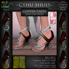 2014 CthuShues - ADD-ON Copper Fades