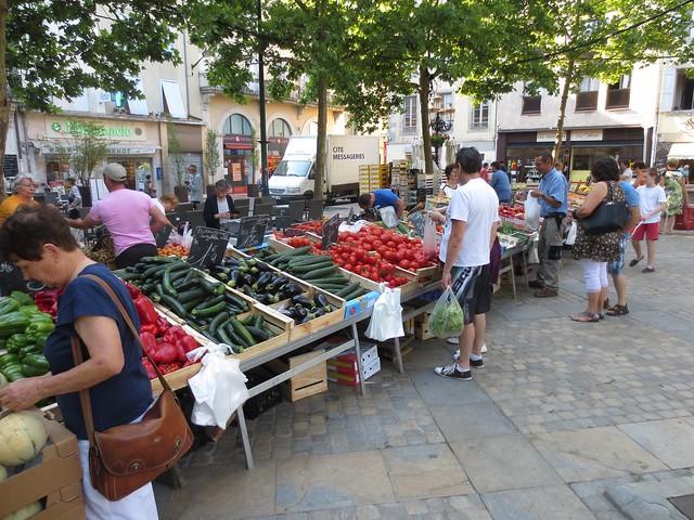 Market, Carcassonne