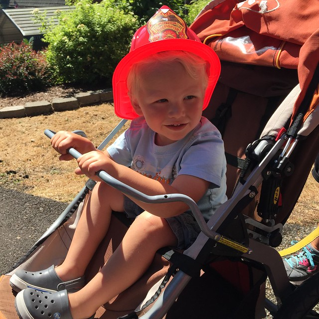 judah and his fire hat