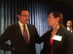 Meeting DC Mayor Vincent Gray