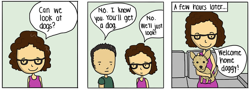 Just Looking at Dogs