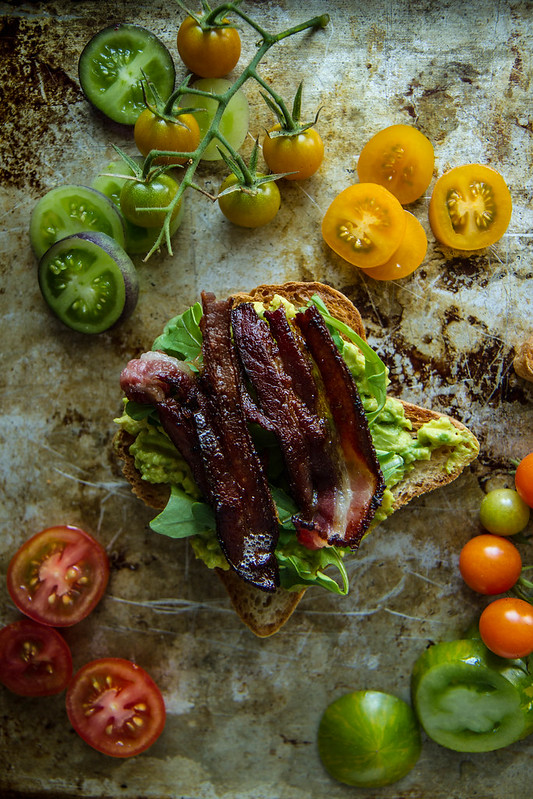 BLT Avocado Toast