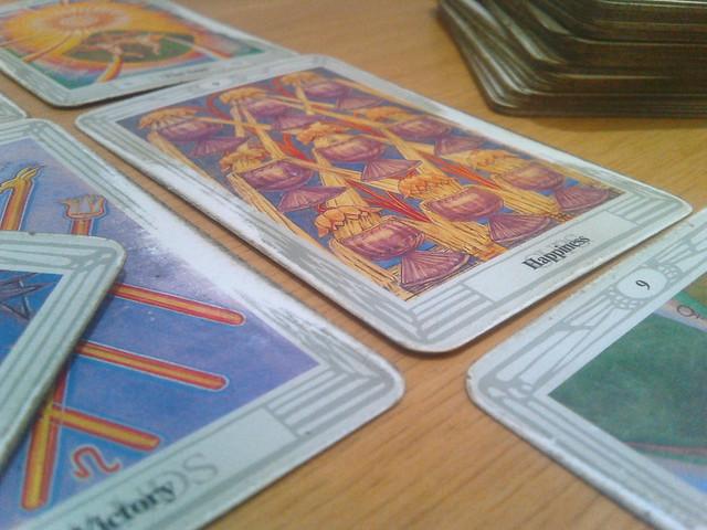 cartas de tarot, cartas de tarô