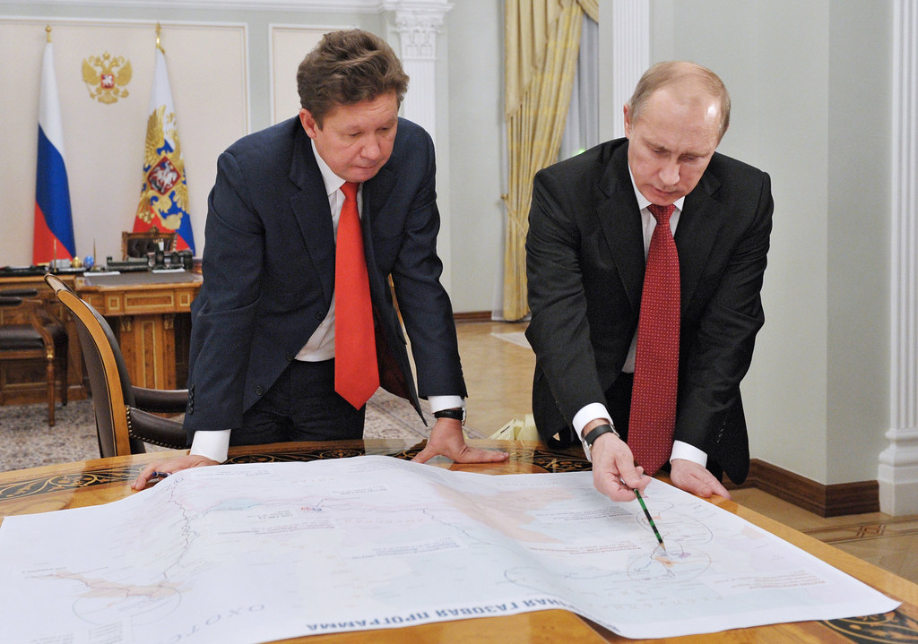 RUSSIA ECONOMY GAZPROM