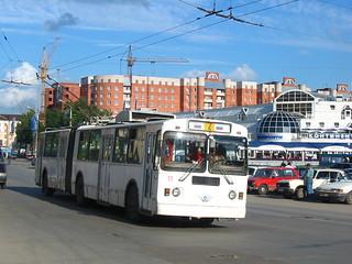 Tula trolleybus 11 ЗиУ-620520 build 1996, withdrawn 2015