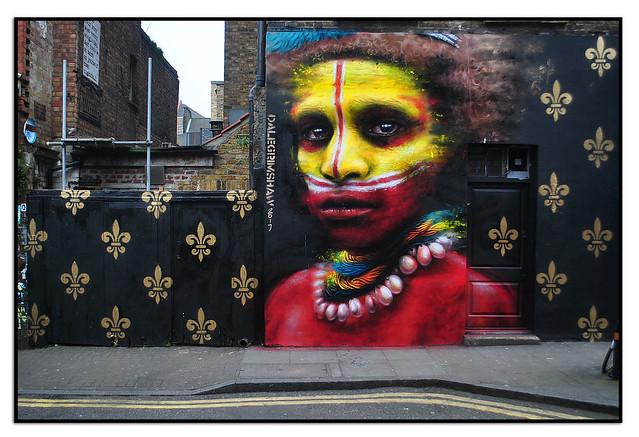 STREET ART by DALE GRIMSHAW