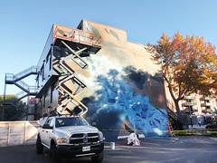 Graffiti Artist at Work - Montreal 2016