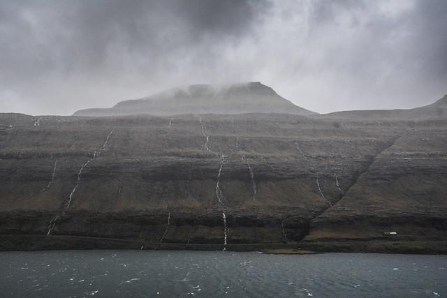 Funningsfjørður, Eysturoy, Faroe Islands.