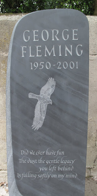 Welsh slate headstone, Gloucestershire.