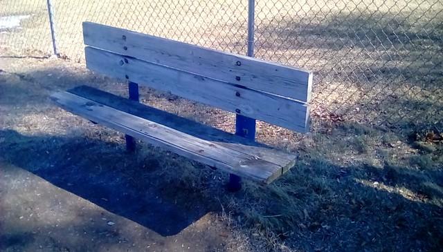 Playground bench - HBM