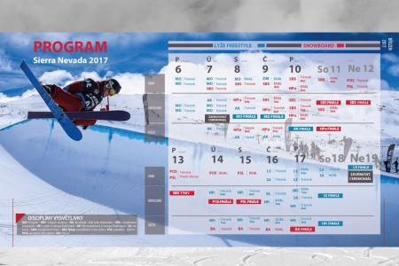 Začíná MS snowboardistů a akrobatických lyžařů. VSierra Nevadě se představí 23 Čechů