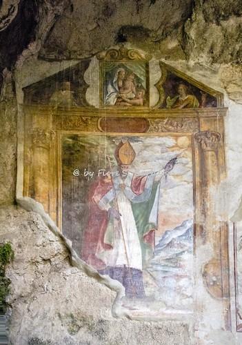 Bucciano (BN), 2017, La Grotta di San Simeone.