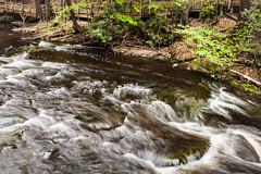 The rambling rivers of Bushkill Falls