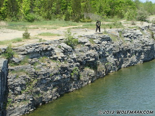 Wainfleet Quarry May 20, 2013