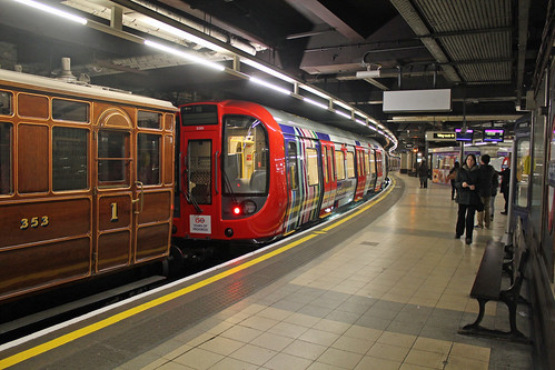 Rolling stock exhibition at Baker Street