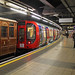 Rolling stock exhibition at Baker Street by London Transport Museum