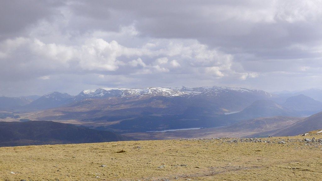 Ardverikie Hills from Gael Charn