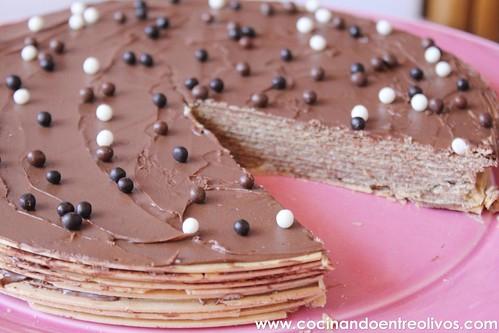 Tarta de obleas y nutella www.cocinandoentreolivos (8)