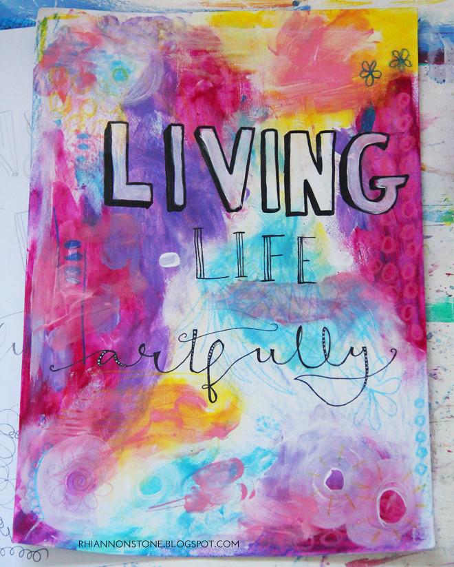 Living life artfully 2