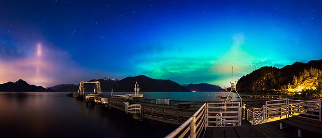 Aurora Borealis at Porteau Cove - Explored!
