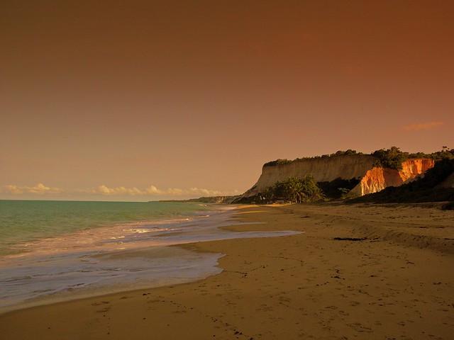 Praia de Pitinga,orla sul de Porto Seguro/Bahia/Brasil.