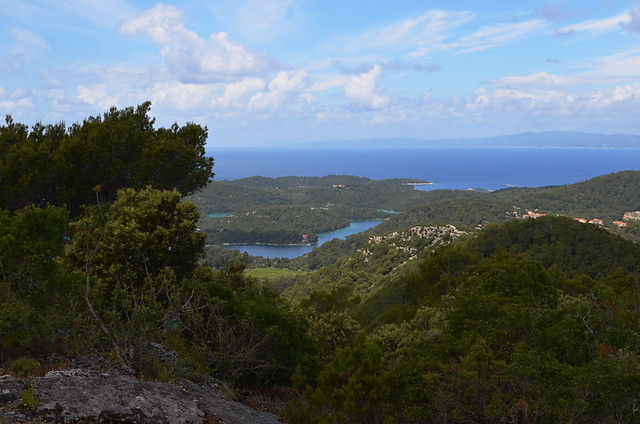 Mljet National Park, Croatia, View from Montokuc