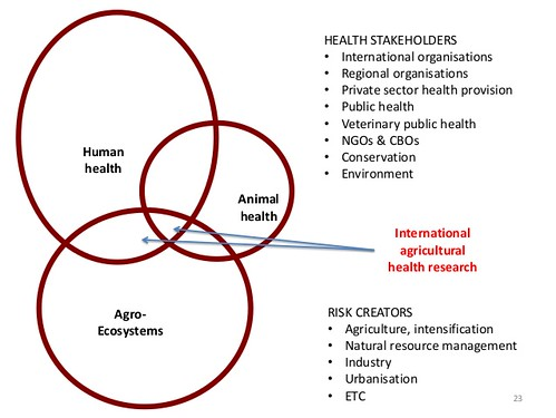 CGIAR research at the interface of human, animal and ecosystem health