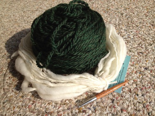 What can you do with 18 yards of handspun yarn?