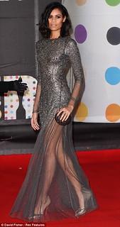 Aluna Francis Sheer Dress Celebrity Style Women's Fashion