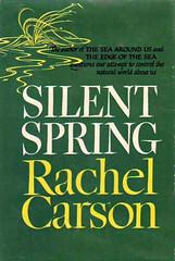 寂靜的春天Silent Spring。圖片來源:維基百科,http://en.wikipedia.org/wiki/Silent_Spring