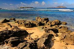 Nepean Island and Phillip Island Across Slaughter Bay, Kingston, Norfolk Island